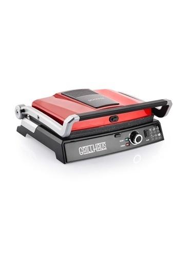 Schafer SHF-GrillHouse Schafer Grill Haus Tost Makinesi Kırmızı